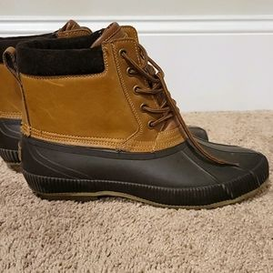 Men Leather Charlie Snow/Duck Boots